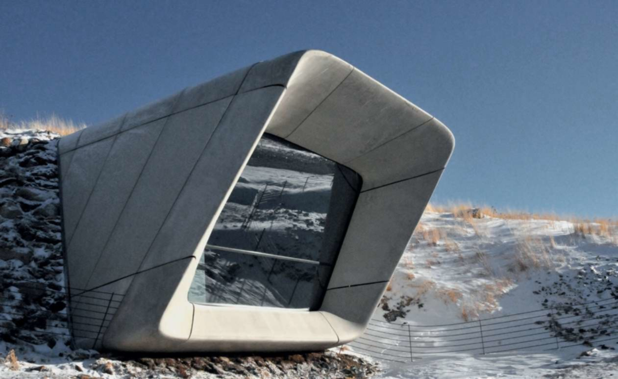 Le Messner Mountain Museum de Zaha Hadid Architects en Italie
